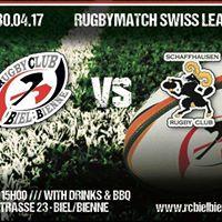 RC BielBienne vs Schaffhausen Rugby Club