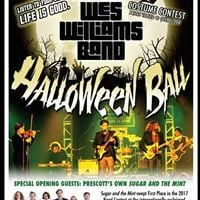 The Wes Williams Band Halloween Ball