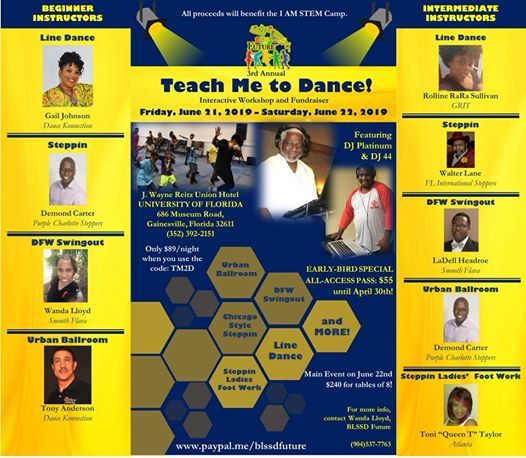 3rd Annual Teach Me To Dance Youth Fundraising Event At