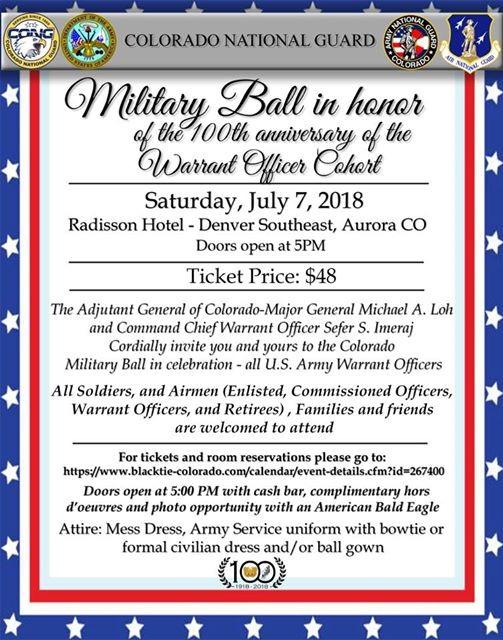 2018 Cong Military Ball At Radisson Hotel Denver Aurora Aurora