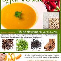 Curso de cocina ayurveda at kinema sevilla seville for Clases de cocina sevilla