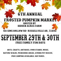6th Annual Frosted Pumpkin Market