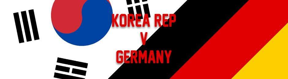Korea Rep v Germany at Cargo - FIFA World Cup 2018