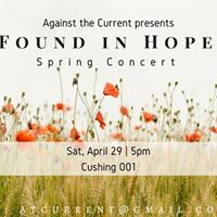 ATC Spring Concert Found in Hope