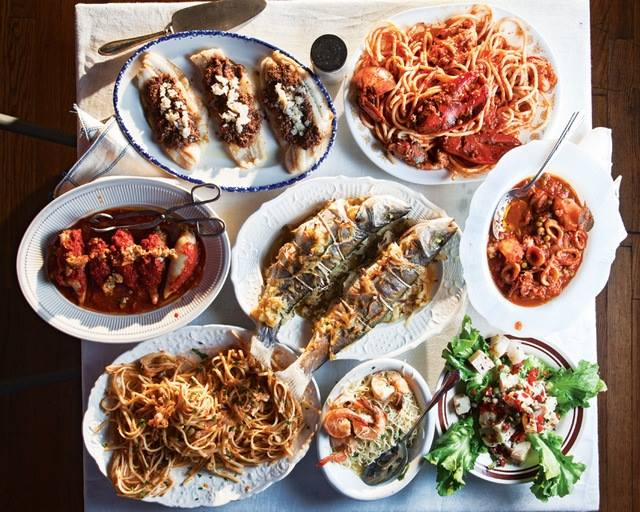 italian christmas eve feast of the seven fishes at biga restaurant tulsa