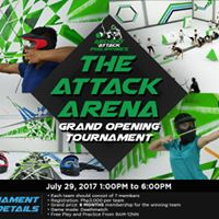 Archery Attck Grand Opening Tournament