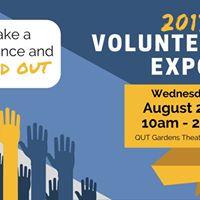 QUT Volunteering Expo 2017