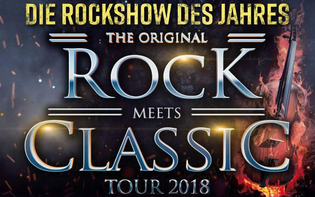 Rock Meets Classic Tour 2018 At Donau Arena Regensburg