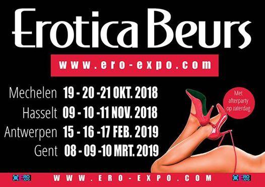 Erotica beurs in 2019 Nu ook in Gent