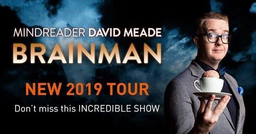 Mindreader David Meade presents Brainman