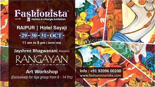 Jayshree Bhagwanani presents Rangayan at Fashionista Raipur