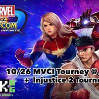 Mavel Vs. Capcom Infinite  Injustice 2 at AFKgg