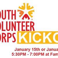 Youth Volunteer Corps Kickoff 2