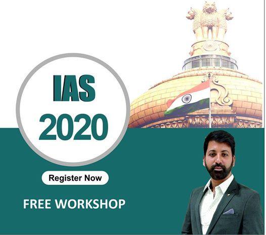 Free Workshop IAS 2020 at Global IAS, Bangalore