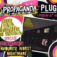 Propaganda Arctic Monkeys Special  3.50 Guestlist  Plug
