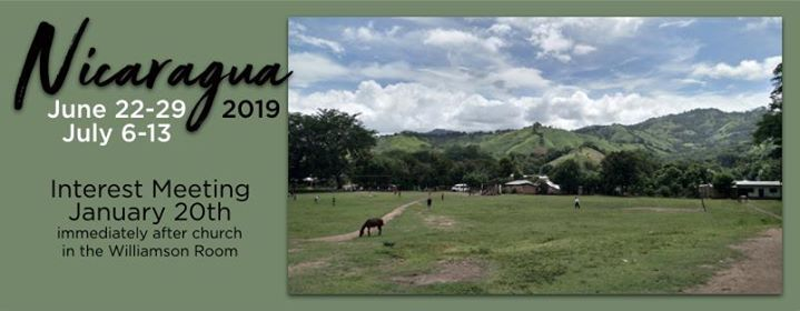 Nicaragua Summer 2019