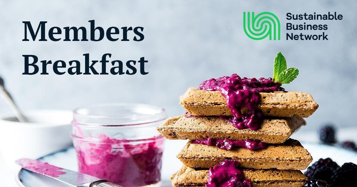 Members Breakfast Christchurch