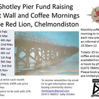 Coffee mornings to see new Art of the Pier