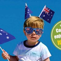 Australia Day - BBQ Jumping Castle Thong Throwing &amp More