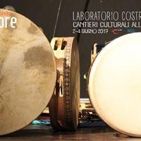 Laboratorio costruzione tamburello at Sponde Sonore