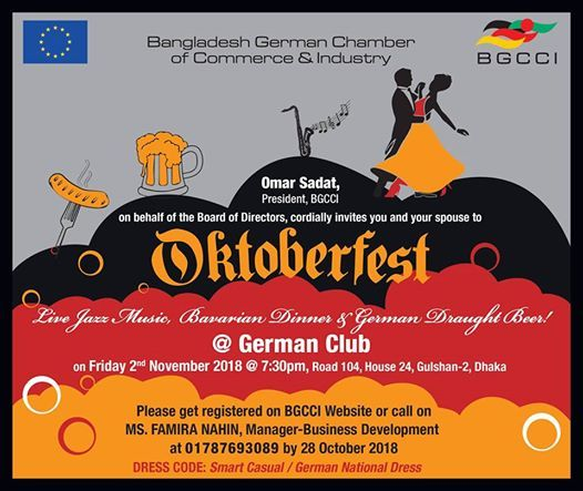 Oktoberfest 2018 at German Club -Dhaka, Dhaka