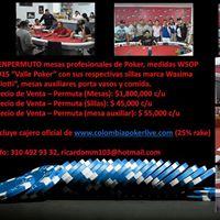 Venta Mesas Profesionales De Poker