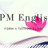 SPM F4 English Tuition