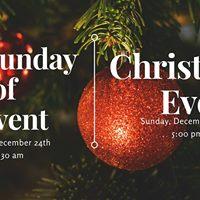 December 24th Masses