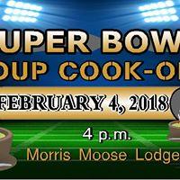 Morris Moose Super Bowl Soup Cook-Off