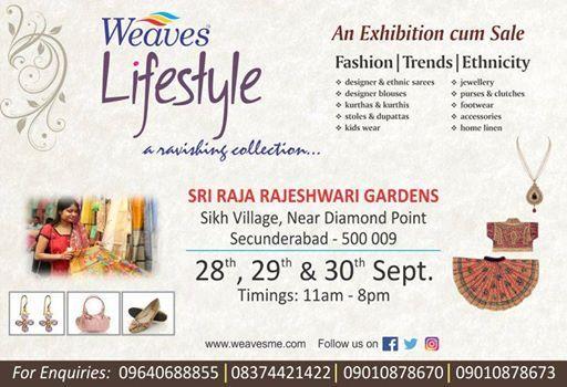 Weaves Exhibition & Sale-Cotton & Silk Spectrum at Secunderabad