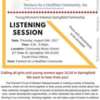 YWI Listening Session with Partners for a Healthier Community