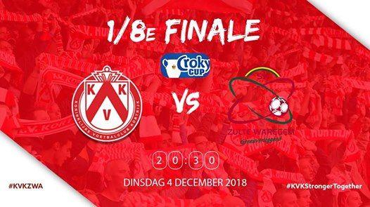 Croky Cup 18 KV Kortrijk - Zulte Waregem