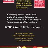 World Billiards UK Coaching Course