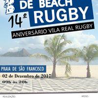 Torneio De Beach Rugby - 14 Aniversrio Vila Real