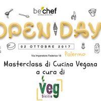 OpenDay Palermo Masterclass di Cucina Vegan