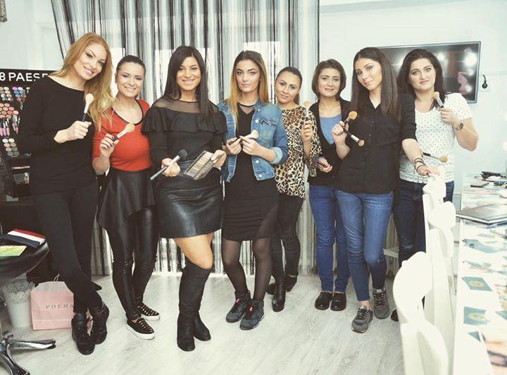 Workshop De Machiaj Gratis At Star Beauty Center By Ciftci Elena