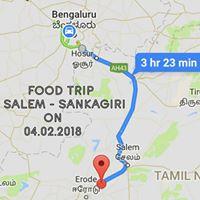 Food Trip To Salem - Sankagiri