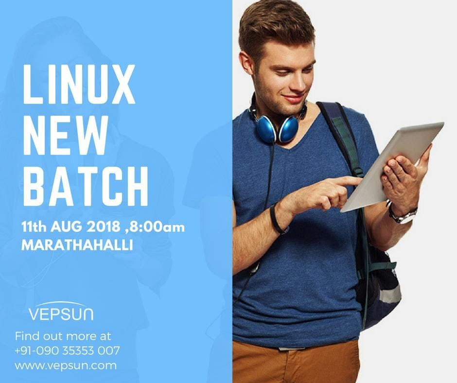 Linux New Batch on 11th August