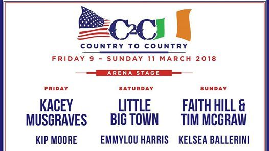 Country To Country 2019 - 3 Day Tickets