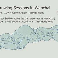 Life Drawing in Wan Chai at Hkpainter Studio 28th Nov.