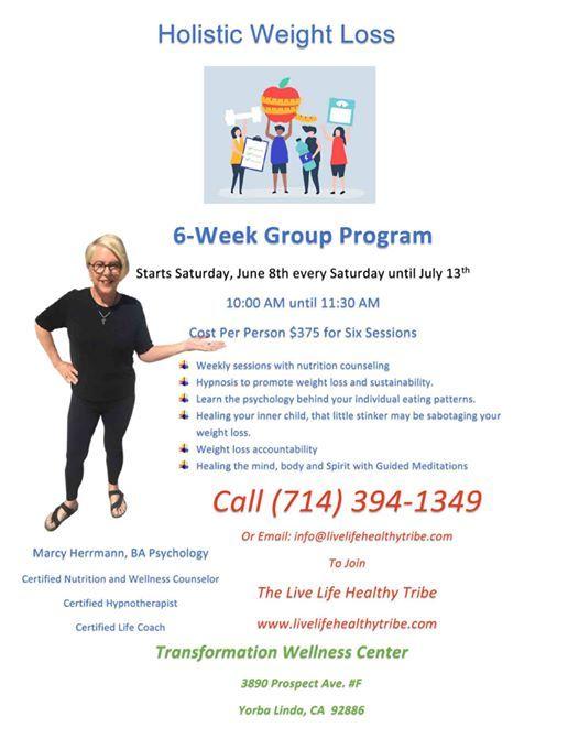 Holistic Weight Loss Program At Transformation Wellness Center 3890
