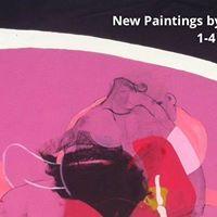 New Paintings by Caleb Reid