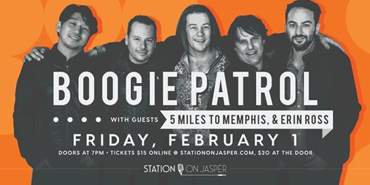 Boogie Patrol w 5 Miles to Memphis & Erin Ross
