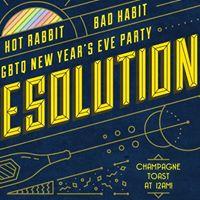 Hot Rabbit  Bad Habit RESOLUTIONS LGBTQ New Years Eve