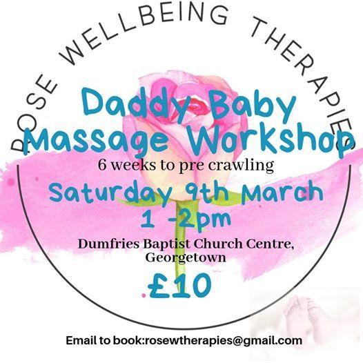 Daddy Baby Massage Workshop