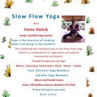 Slow Flow Yoga with Irene