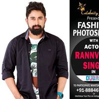 PhotoShoot with Rannvijay Singh in Dubai