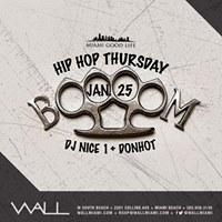 HipHop Thursdays 1.25.18