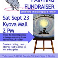 Paint It Forward Painting Fundraiser