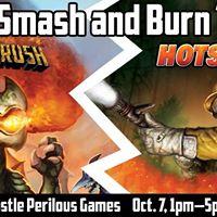 Fireside Games Smash and Burn Tour